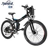 Speedrid Bicicleta eléctrica ebike electrica 26/20 Ebike ebike montaña para...