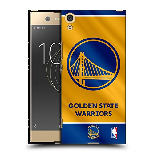 Head Hülle Designs Offizielle NBA Banner 2019/20 Golden State Warriors Schwarze Soft Gel Huelle kompatibel mit Sony Xperia XA1 Ultra/Dual