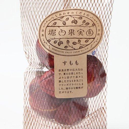 【国産ドライフルーツ・堀内果実園】フリーズドライ すもも25g 保存料・着色料無添加