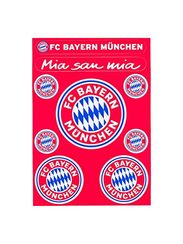 FC Bayern München Aufkleberkarte Logo