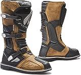 Forma botas moto Terra Evo WP homologuee CE marrón