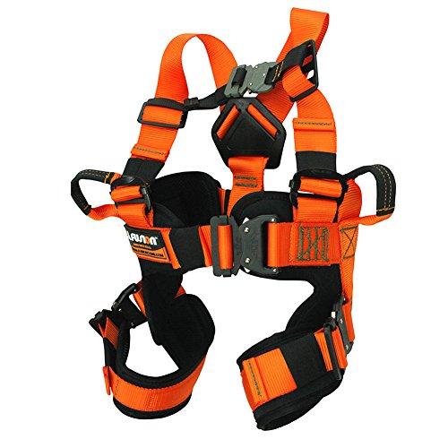 Fusion Climb Rebound Kids Full Body Adjustable Bungee Trampoline Harness 23KN XS Orange