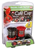 Cafe Cup Reusable Coffee Pods for Keurig K-Cup Machines, Reusable K Cups Pods