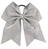 Kenz Laurenz Glitter Cheer Bows - Cheerleading Softball Gifts for Girls and...