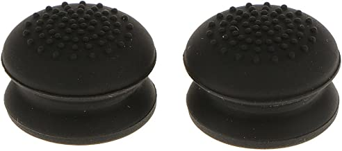 Baoblaze 2 Pieces Thumbstick Cap Grips 3D Raised Higher Profile for Sony PS4 Xbox One 360 Game Console Gamepad (Black)