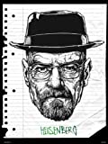 Póster de Breaking Bad HEISENBERG por Mike Winnard (MSP0050)