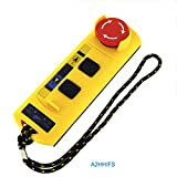 Generic A2Hh Fs Electric Hoist A Direct Type Industrial Remote Control Switch 220V Built-in Contactor with Emergency Stop