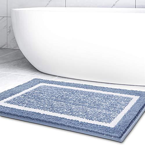 camera da letto Grigio 2 cm di spessore soggiorno doppio assorbente antiscivolo 80 x 45 x 2 cm Home per cucina bagno Tappetino disinfettante