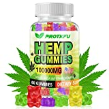100% NATURAL HEMP Oil GUMMIES: Using the method of Co2 extraction presents the highest possible purity in Natural hemp Extract, and then infused the pure hemp oil to the gummies, keeping it rich in various natural nutrients. All of our ingredients ar...