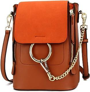 Olyphy Fashion Backpack Purse for Women, Fashion PU Leather Shoulder Bags Handbag