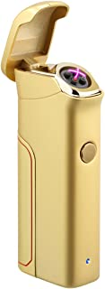 Kivors Dual Arc Lighter USB Rechargeable Windproof Electrical Plasma X Beam Arc Lighter..