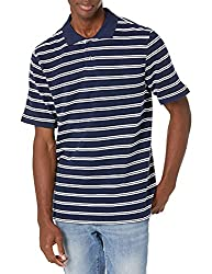 Father's day gift ideas of Amazon Essentials Men's Regular-fit Cotton Pique Polo Shirt