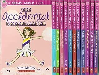 Candy Apple 12-Book Set, Books 1-12 (The Accidental Cheerleader, The Boy Next Door, Miss Popularity,