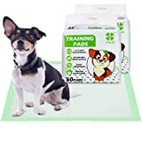 YORJA Dog Training Pads 100 Pack-60 x 60cm Super Absorbent Large Puppy Pee Pads with Breathable Mesh Surface