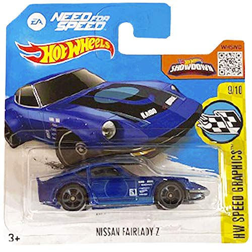 Hot Wheels Nissan Fairlady Z HW Speed Graphics 9/10 2016 (184/250) Short Card