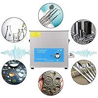 超音波洗浄機、プロフェッショナル10L240Wステンレス鋼メカニカルタイミング科学実験室用クリーニング用品、ジュエリーグラス用デジタルタイマー付き(US PLUG)