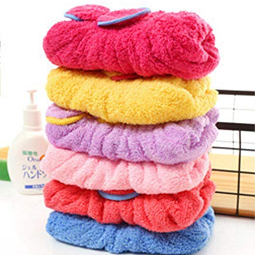 Voiks Wet Hair Dry Cap Drying Towel,Hair Drying Towels Ultra Absorbent Microfiber...