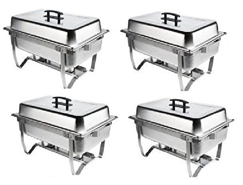 Chafer 4 Pack Premier Chafers Stainless Steel Chafer Dish 8 Qt. Capacity QuantityBonus $20 MFR Rebate 4 Chafing Dish Sets Brand New Full Complete Chafer Systems. Only From 1DealzPlus Bonus $25 Loyalty Card
