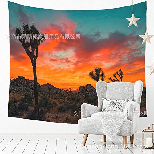 Nordic grüne Pflanze hängen Tuch Home Office dekorative malerei Tapisserie 210035 150 * 230 cm