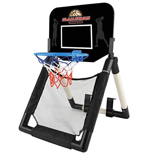 Toyrific, TY5865,Slam Stars, Set di canestro da Basket e tabellone da Porta o Pavimento