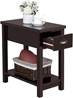 Best end table with bottom shelf Reviews
