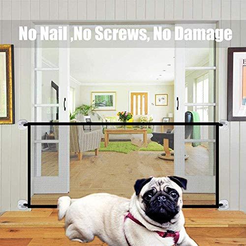 Nifogo Haustier Sicherheitsnetz - Geflügelnetz Trenngitter für Hunde Hundegitter Isolation Netzwerk Sicherheitsbarriere Tragbar Falten,strapazierfähig (180 x 72cm.)
