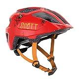 Scott Spunto Florida 2021 - Casco de bicicleta infantil (talla 46-52 cm), color rojo