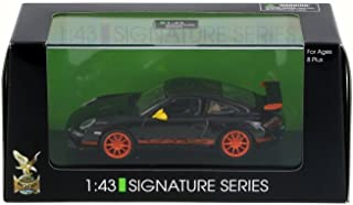 Road Signature Porsche 997 GT3 RS, Black - Lucky 43204 1/43 Scale Diecast Model Toy Car