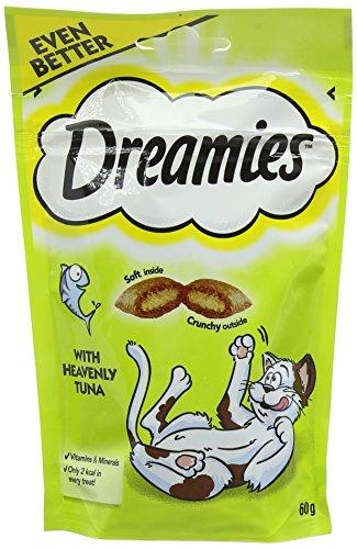 DREAMIES Katzen-Leckereien mit Thunfisch 60g(8er Pack)