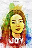 Joy: Red Velvet Member Color Splatter Art 100 Page 6 x 9' Blank Lined Notebook Kpop ReVeluv Merch Journal Book (Red Velvet Member Color Splatter Art Notebooks)
