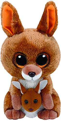 Kipper the Brown Kangaroo Beanie Boo