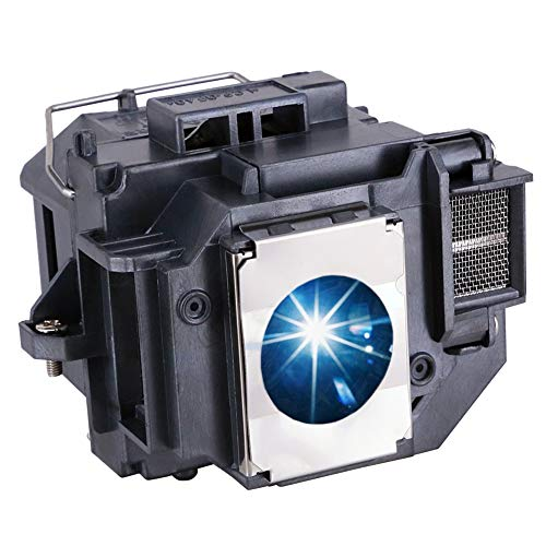 EWO'S ELP54 Replacement Projector Lamp Bulb for Epson ELPLP54/ELPLP58 Powerlite Home Cinema 705HD S7 S9 X9 S8 X7 EX31 EX51 EX71 EX5200 EX7200 EX3200 S10 H310A H311A H331A H368A H369A H376A Projectors
