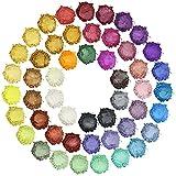 Glimmerpulver – 50 Farben Epoxidharz-Pigment, natürliche