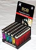 BOB Einwegfeuerzeuge 50er-Display aus dem Hause von Campingman