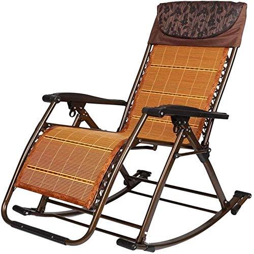ZWWZ Tumbonas de Sol Plegable Cero Silla de Gravedad cómoda Respaldo Ajustable para la Playa Camping al Aire Libre Patio salón sillones, Silla de Playa portátil HAIKE