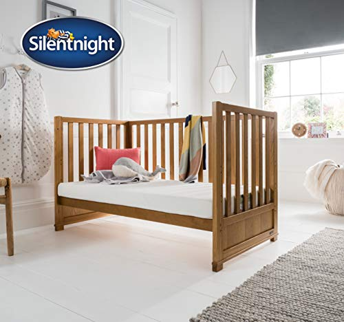 Silentnight Safe Nights Airflow Cot / Toddler Bed Mattress | 140 x 70cm | Foam & Chemical Free |...
