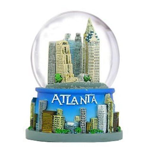 Amazoncom Atlanta Georgia Snow Globe 65mm Everything Else