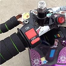 Handlebar Motorcycle Kill Switch ON/OFF Button Bullet Connector 12V Bike Hand Bar Kill Stop horn interruptor for Head lamp light