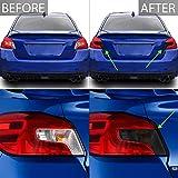 Bogar Tech Designs Tail Light Tint Kit Compatible with and Fits Subaru WRX/STI 2015-2021, Dark Smoke