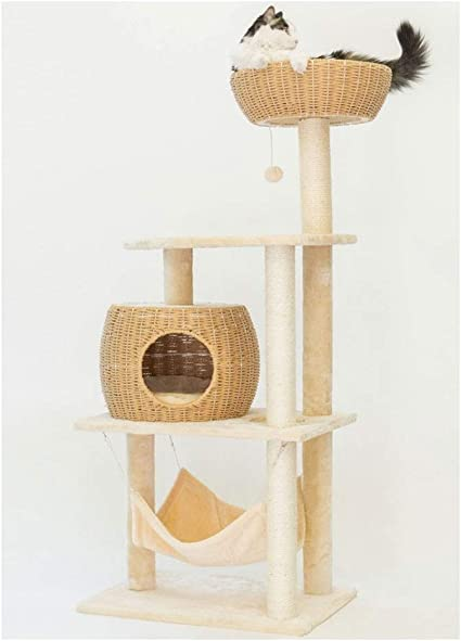 Árbol para Gatos Gato del juguete Casa cama colgante del ...
