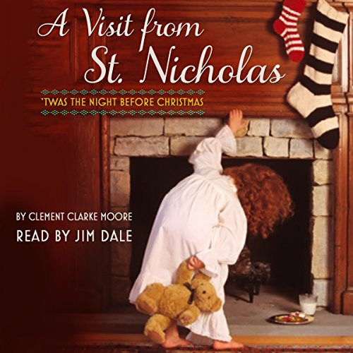 A Visit from St. Nicholas audiobook cover art