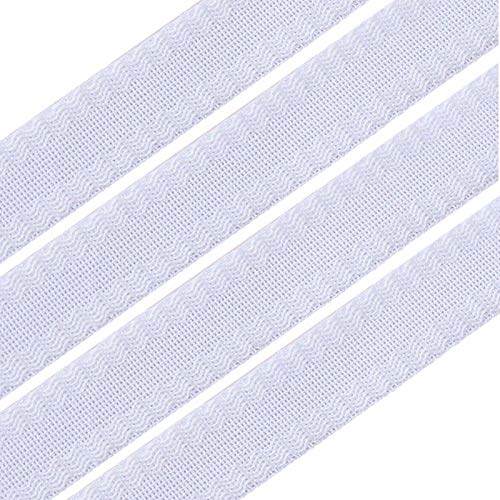 Pants Edge Shorten Selbstklebende Hose Mundpaste, Bügelband aufbügeln, Klebeband Saumband für Anzughose Jeanshose Nähteilzubehör (White)