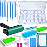 inifus 70 PCS 5D Diamond Painting Tools,Diamond Painting Accessories Kit with Diamond Embroidery Box and Diamond Painting Roller for Adults or Kids