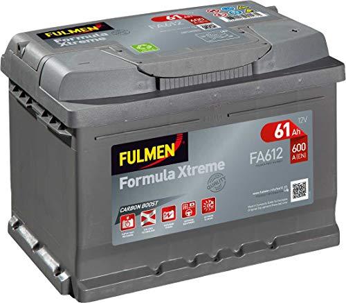 Fulmen - Batterie voiture FA612 12V 60Ah 600A - Batterie(s) - 561400060 ; D