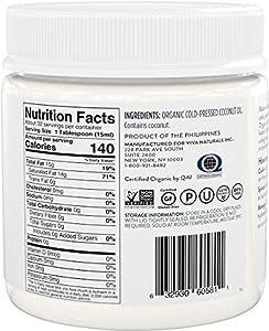 Viva Naturals Organic Extra Virgin Coconut Oil, 16 Ounce #1