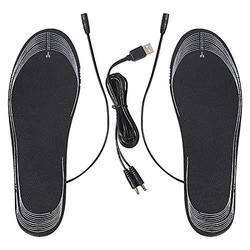 Lancei USB-Heizsohle, Fußheizung Mit Elektrischer Heizung, Größe Kann Geschnitten Werden, Waschbar, Geeignet Für Outdoor-Aktivitäten | Jagen, Skifahren, Bergsteigen