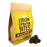 BodyMe Organic Vegan Protein Bites | Raw Maca Cinnamon | 500g (12.5 x 40g Servings) | with 3 Plant Proteins