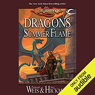 Dragons of Summer Flame     Dragonlance: Chronicles, Book 4              By:                                                                                                                                 Tracy Hickman,                                                                                        Margaret Weis                               Narrated by:                                                                                                                                 Paul Boehmer                      Length: 25 hrs and 40 mins     48 ratings     Overall 4.6