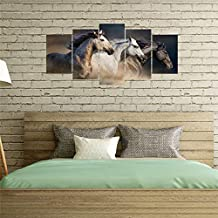 5 Pieces Animal Printed Wallpaper Art Home Decor