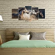 5 قطع من ورق الحائط برسومات حيوانات للديكور المنزلي